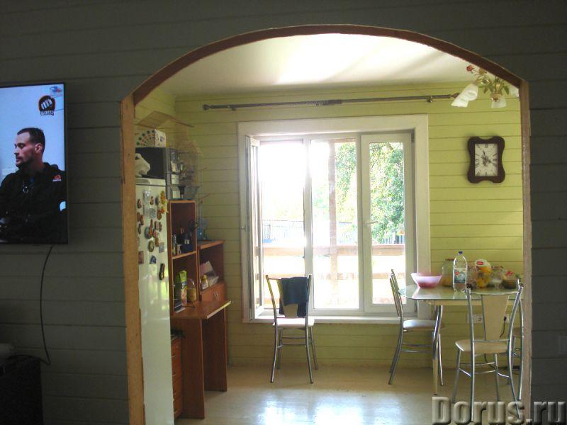 Дом 140 квм из бруса под ключ на ухоженном участке 12 соток в деревне 20 км мкад - Дома, коттеджи и..., фото 8
