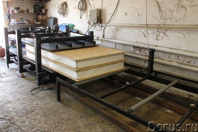 Оборудование для производства СИП-панелей - Промышленное оборудование - Строительство домов из СИП-п..., фото 3
