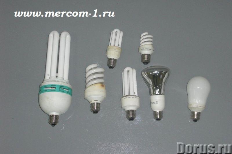 Утилизация ламп дневного света (люминесцентные, энергосберегающие, ДРЛ, ДНаТ и др), ртутьсодержащих..., фото 1