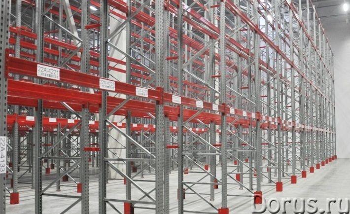 Изготовление металлических стеллажей для склада - Торговое оборудование - Изготовление металлических..., фото 1