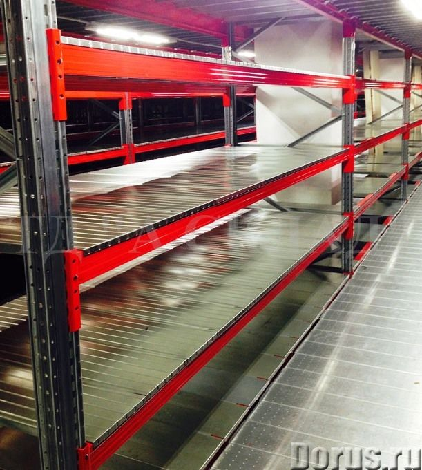 Изготовление металлических стеллажей для склада - Торговое оборудование - Изготовление металлических..., фото 2