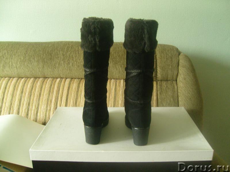 Продаются зимние замшевые сапожки от известного бренда - Одежда и обувь - Продаются зимние сапоги на..., фото 2