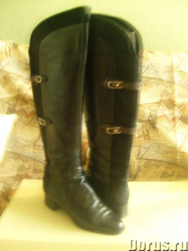Демисезонные сапоги из натуральной кожи - Одежда и обувь - Продаются демисезонные сапоги из натураль..., фото 1