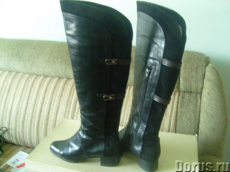 Демисезонные сапоги из натуральной кожи - Одежда и обувь - Продаются демисезонные сапоги из натураль..., фото 2