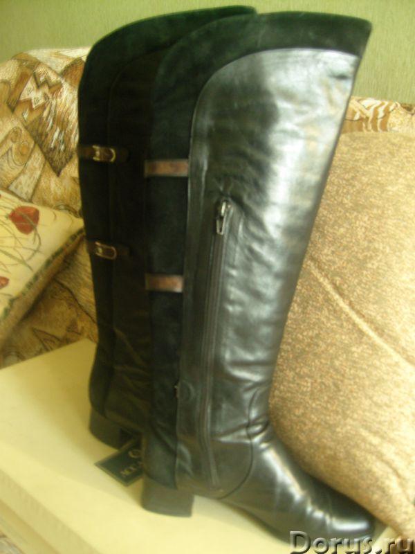 Демисезонные сапоги из натуральной кожи - Одежда и обувь - Продаются демисезонные сапоги из натураль..., фото 3