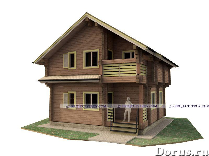 Проекты и проектирование деревянного дома, сруба или бани - Дизайн и архитектура - Архитектурное и к..., фото 1