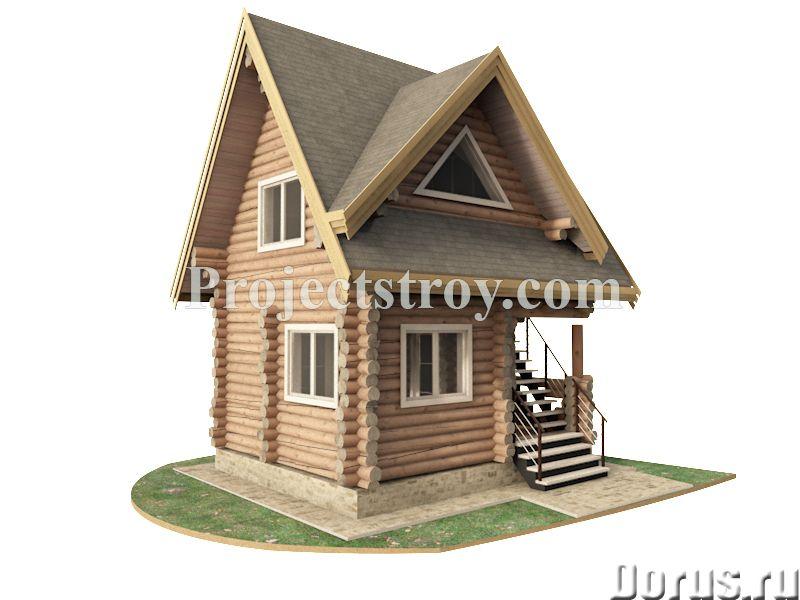 Проекты и проектирование деревянного дома, сруба или бани - Дизайн и архитектура - Архитектурное и к..., фото 2