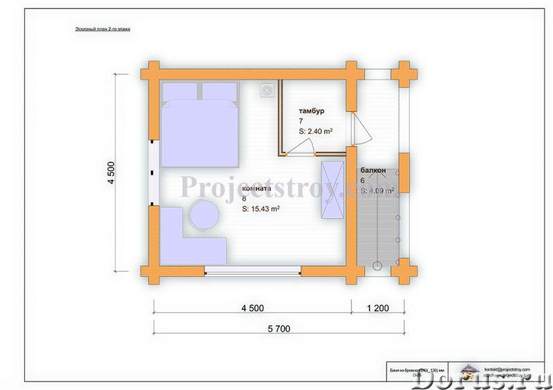 Проекты и проектирование деревянного дома, сруба или бани - Дизайн и архитектура - Архитектурное и к..., фото 3