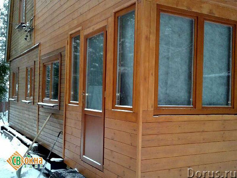 Дешевые деревянные окна со стеклопакетами Эконом - Материалы для строительства - Вы получаете * Каче..., фото 2