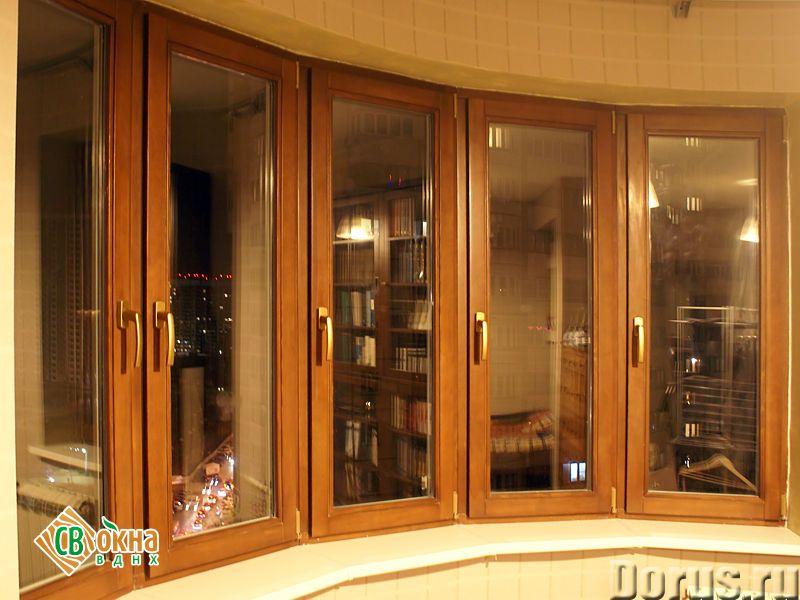 Дешевые деревянные окна со стеклопакетами Эконом - Материалы для строительства - Вы получаете * Каче..., фото 3