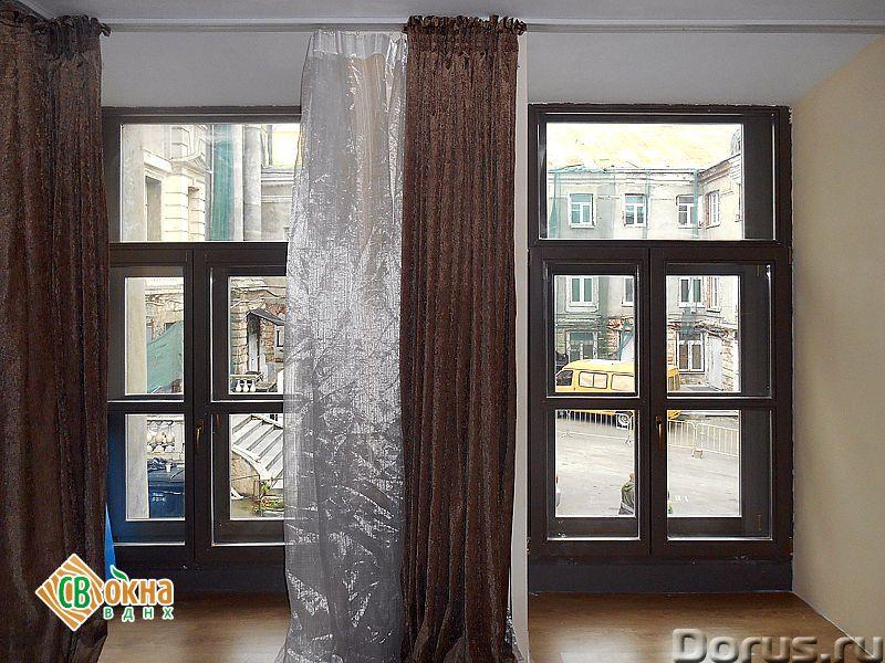 Дешевые деревянные окна со стеклопакетами Эконом - Материалы для строительства - Вы получаете * Каче..., фото 4