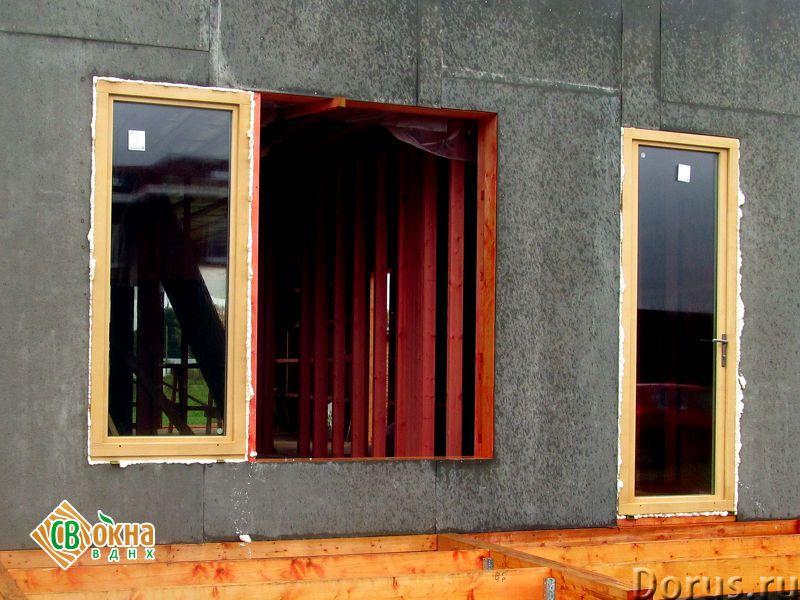 Дешевые деревянные окна со стеклопакетами Эконом - Материалы для строительства - Вы получаете * Каче..., фото 5