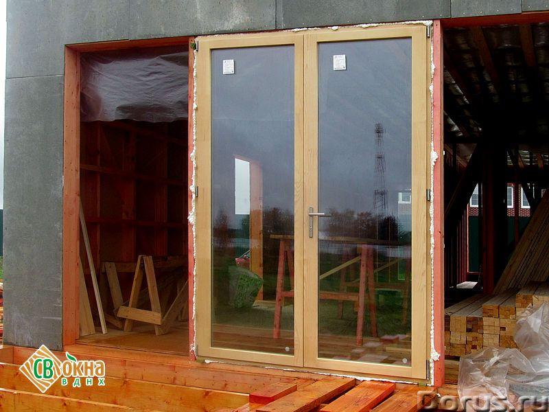 Дешевые деревянные окна со стеклопакетами Эконом - Материалы для строительства - Вы получаете * Каче..., фото 6