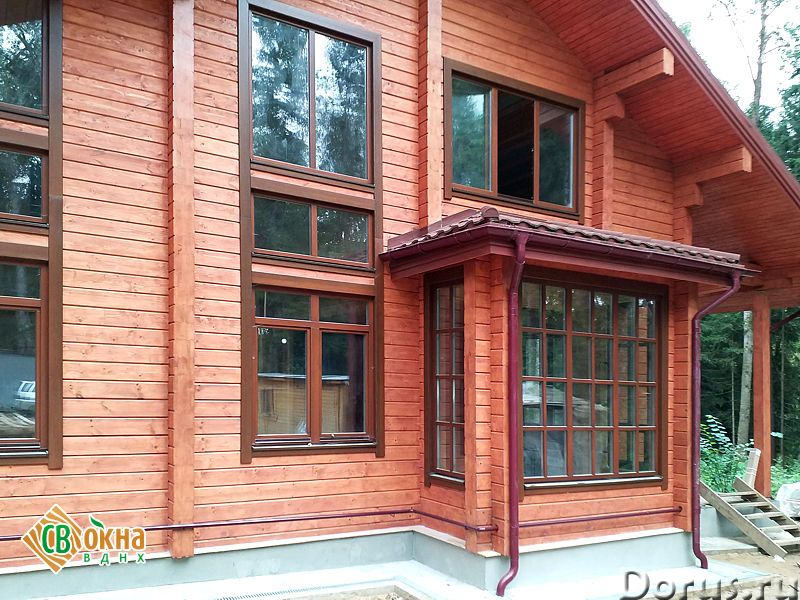 Деревянные евроокна - Материалы для строительства - Вы получаете * Качественные и долговечные окна и..., фото 1