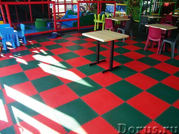 ПВХ плитка для пола в магазине или торгово-развлекательном центре - Материалы для строительства - Мо..., фото 10