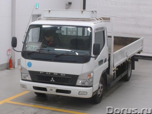 Грузовик бортовой MITSUBISHI CANTER кузов FE82D год вып 2010 багажник грузопод 3 тн - Грузовые автом..., фото 1
