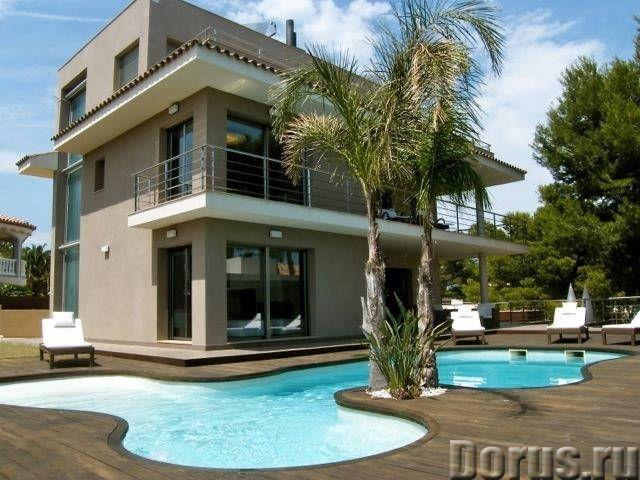 Испания. Элитная вилла с бассейном в 200-х м. от пляжей на побережье Коста Дорада - Недвижимость за..., фото 1