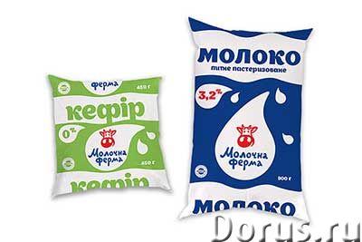 Печать упаковки линпак для молока - Типографии и полиграфия - Отечественный производитель мягкой упа..., фото 1