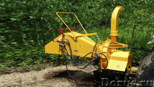 Щеподробилка от ВОМ минитрактора FRD-8TH - Сельхоз и спецтехника - Эффективная дробилка веток с гидр..., фото 1