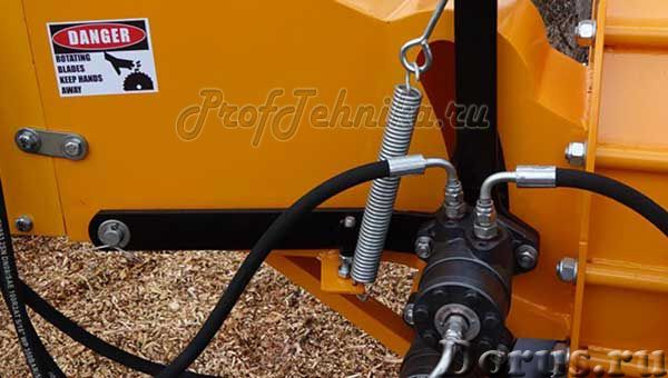 Щеподробилка от ВОМ минитрактора FRD-8TH - Сельхоз и спецтехника - Эффективная дробилка веток с гидр..., фото 2