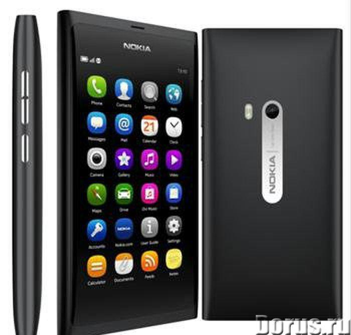 Новый Nokia N9 64Gb Black (Финляндия, Ростест) - Телефоны - Nokia N9 64gb Black-суперсовременный фла..., фото 1