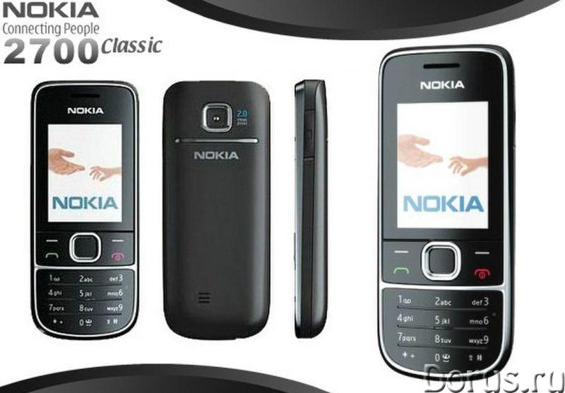 Новый Nokia 2700 Black(Ростест, оригинал, полный комплект) - Телефоны - Новый оригинальный, официаль..., фото 1
