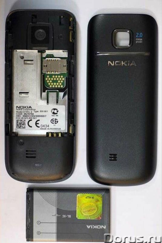 Новый Nokia 2700 Black(Ростест, оригинал, полный комплект) - Телефоны - Новый оригинальный, официаль..., фото 2