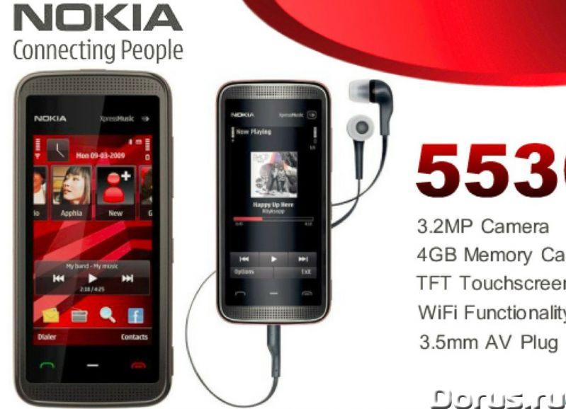 Новый Nokia 5530 XpressMusicBlack (Ростест,оригинал) - Телефоны - Абсолютно - новый оригинальный тел..., фото 1