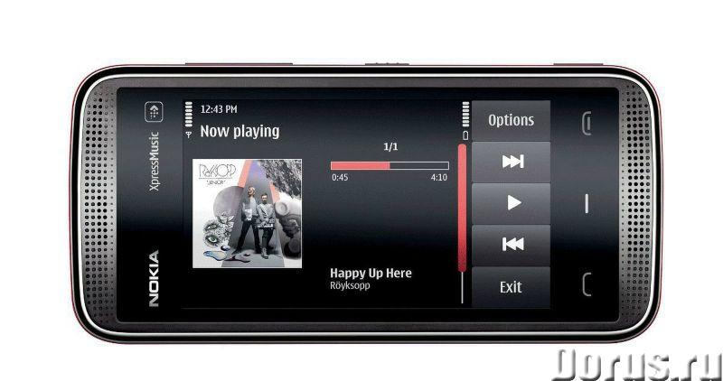 Новый Nokia 5530 XpressMusicBlack (Ростест,оригинал) - Телефоны - Абсолютно - новый оригинальный тел..., фото 5