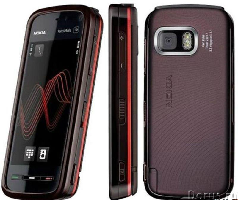 Новый NOKIA 5800 XpressMusic Black Red (Ростест,оригинал) - Телефоны - Новый оригинальный телефон NO..., фото 3
