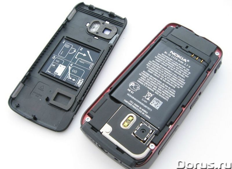 Новый NOKIA 5800 XpressMusic Black Red (Ростест,оригинал) - Телефоны - Новый оригинальный телефон NO..., фото 4
