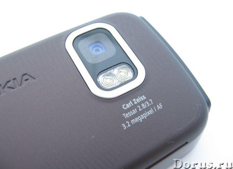 Новый NOKIA 5800 XpressMusic Black Red (Ростест,оригинал) - Телефоны - Новый оригинальный телефон NO..., фото 5