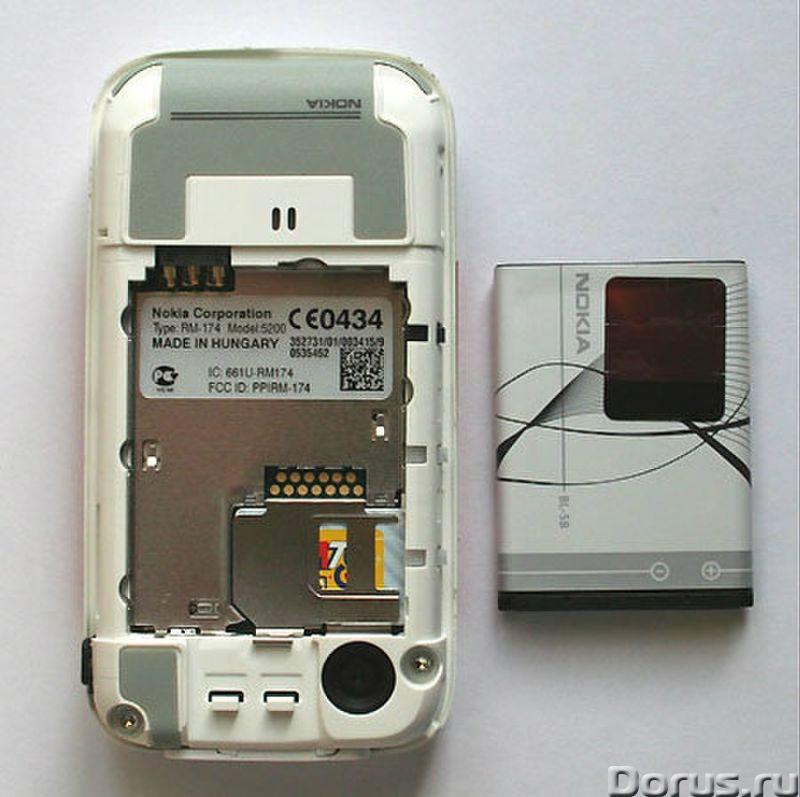 Новый тел.Nokia 5200 (Ростест, оригинал, комплект) - Телефоны - Легендарный телефон абсолютно-новый..., фото 10