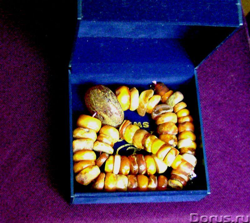 Бусы из натурального, калининградского янтаря 1970 года - Ювелирные изделия - Бусы из натурального..., фото 3