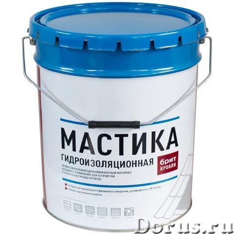 Битумно-полимерная мастика БРИТ-кровля - Материалы для строительства - Битумно-полимерная мастика БР..., фото 1