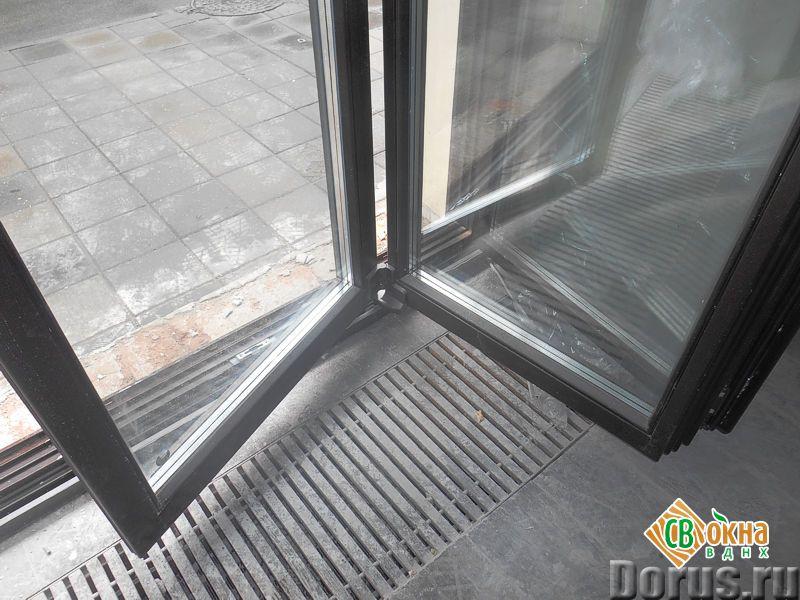 Окна-«гармошки» и складные двери - Материалы для строительства - Вы получаете * Панорамное остеклени..., фото 3