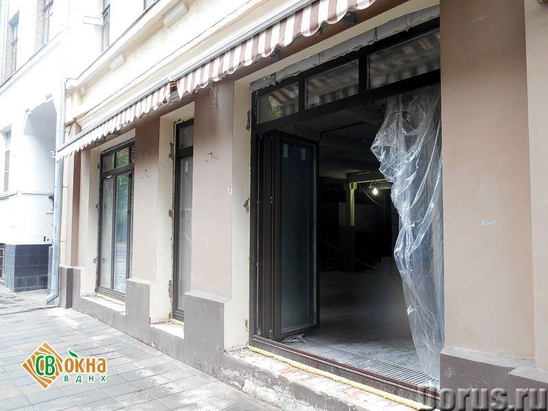 Окна-«гармошки» и складные двери - Материалы для строительства - Вы получаете * Панорамное остеклени..., фото 4