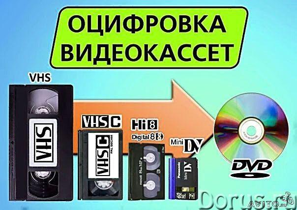 Оцифровка любых видеокассет! Профессионально! Быстро! Дешево - Прочие услуги - Оцифровка Ваших видео..., фото 1