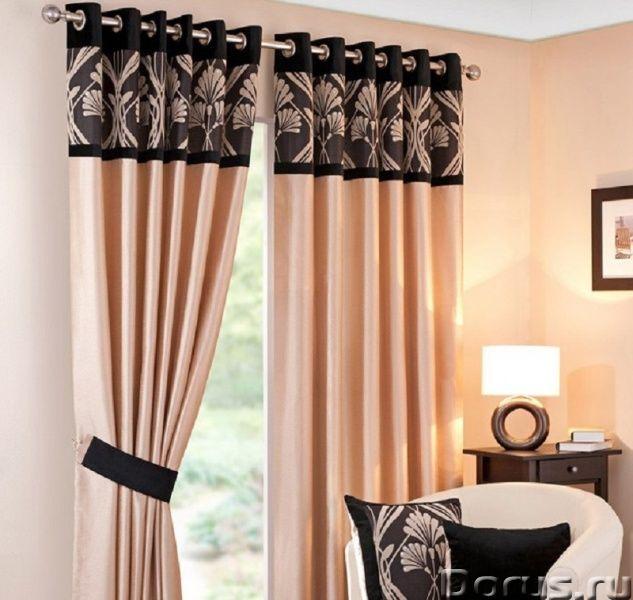 Пошив штор на люверсах - Товары для дома - Пошив штор с лювервами из тканей наших каталогов или из т..., фото 3