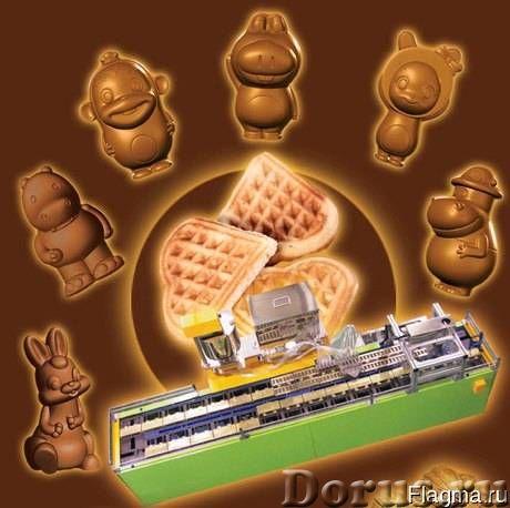 Автоматическая линия для производства бисквитных кексов - Промышленное оборудование - Специальное пр..., фото 1