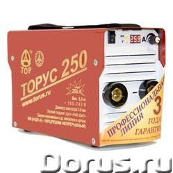 Сварочный инвертор ТОРУС-250 ЭКСТРА - Сварочное оборудование - Питающая сеть 165...242 В Максимальна..., фото 1