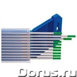 Вольфрамовые электроды WP д 2,4 мм (AC) - Сварочное оборудование - Род тока AC Диаметр 2,4 мм Длинна..., фото 1