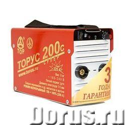 Сварочный инвертор ТОРУС-200с СУПЕР - Сварочное оборудование - Питающая сеть 165...242 В Максимальна..., фото 1