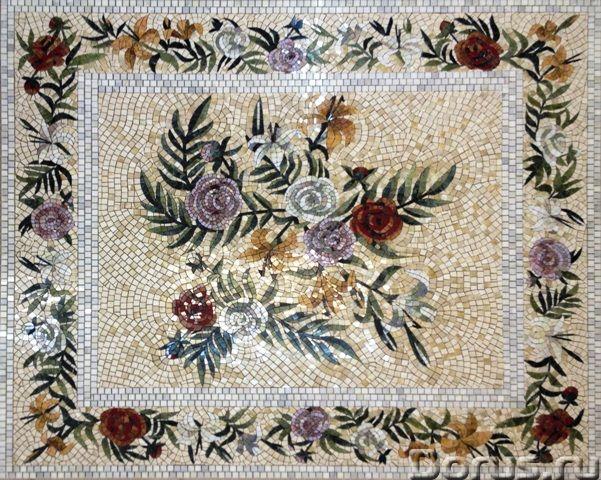 Мозаичные ковры из натурального камня - Дизайн и архитектура - Имеются в продаже готовые мозаичные к..., фото 1