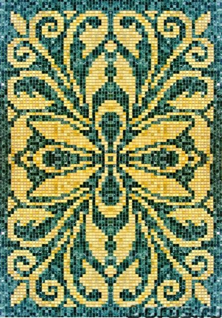 Мозаичные ковры из натурального камня - Дизайн и архитектура - Имеются в продаже готовые мозаичные к..., фото 2