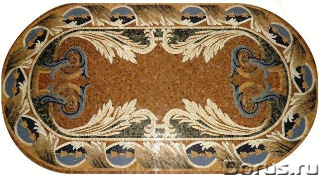 Мозаичные ковры из натурального камня - Дизайн и архитектура - Имеются в продаже готовые мозаичные к..., фото 3