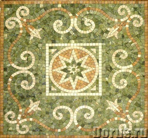 Мозаичные ковры из натурального камня - Дизайн и архитектура - Имеются в продаже готовые мозаичные к..., фото 5