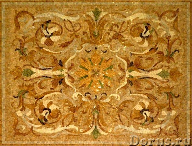 Мозаичные ковры из натурального камня - Дизайн и архитектура - Имеются в продаже готовые мозаичные к..., фото 7