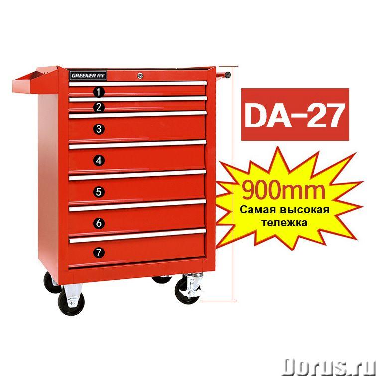 DA-27-Тележка инструментальная 7 секций, на колесах, 685465955 мм - Товары промышленного назначения..., фото 1