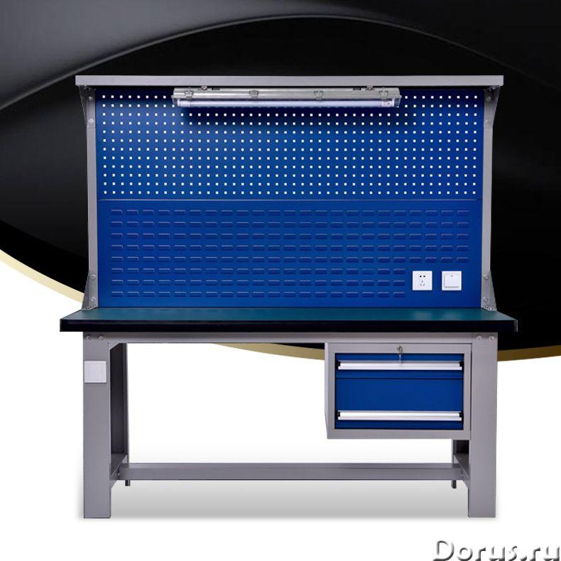ST10101 Верстак слесарный (разные модели) - Металлопродукция - • Верстак ST10101 можно использовать..., фото 1